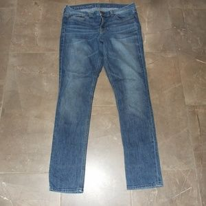 J. Crew Downtown Med Wash Skinny Jeans 31 USA